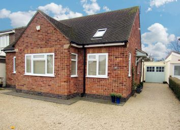 Thumbnail 4 bed detached bungalow for sale in Colby Road, Thurmaston, Leicester