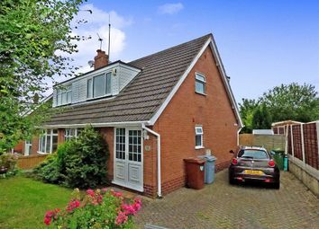 Thumbnail 3 bedroom semi-detached bungalow for sale in Heath Avenue, Rode Heath, Stoke-On-Trent