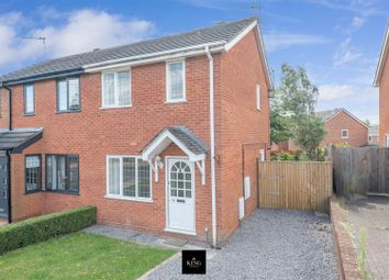 Thumbnail 2 bed semi-detached house for sale in Marleigh Road, Bidford-On-Avon, Alcester