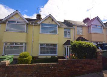 Thumbnail 3 bed terraced house for sale in Marldon Avenue, Paignton, Devon