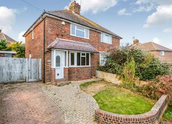 Thumbnail 2 bed semi-detached house for sale in Firle Crescent, Lewes, East Sussex