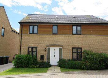 Thumbnail 3 bedroom semi-detached house to rent in Wren Close, St. Ives, Huntingdon