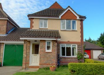 Thumbnail 3 bed detached house for sale in Coleman Close, Drayton, Norwich