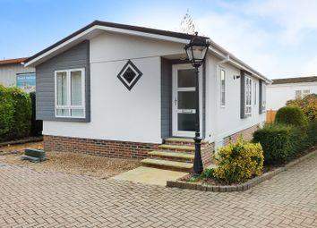 Thumbnail 2 bed mobile/park home for sale in Churt Drive, Poplars Court, Bognor Regis
