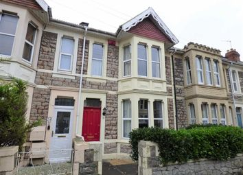 Thumbnail 2 bed terraced house for sale in Amberey Road, Weston-Super-Mare