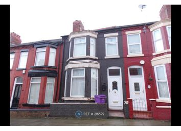 Thumbnail 4 bedroom terraced house to rent in Oban Road, Liverpool