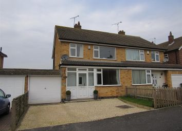 Thumbnail 3 bedroom semi-detached house for sale in Ratcliffe Drive, Huncote, Leicester