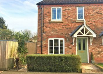 Thumbnail 3 bed semi-detached house for sale in Churchfields Road, Folkingham, Lincolnshire