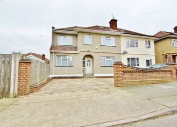 Thumbnail 4 bedroom semi-detached house for sale in Victoria Avenue, Romford