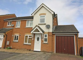 Thumbnail 3 bed semi-detached house to rent in Grange Beck, Didcot