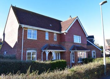 Thumbnail 4 bed detached house for sale in Kennedy Meadow, Hungerford