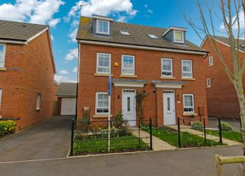 Thumbnail 3 bed semi-detached house for sale in Peregrine Way, Warwick