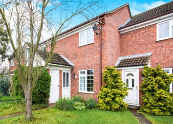 Thumbnail 2 bed terraced house for sale in Bramley Drive, Offord D'arcy, St. Neots