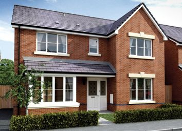 Thumbnail 4 bed detached house for sale in Clos Yr Eryr, Gerddi Pentref Development, Coity, Bridgend