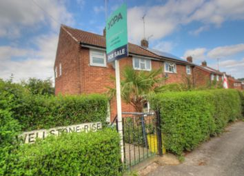 Thumbnail 3 bed semi-detached house for sale in Wellstone Rise, Bramley, Leeds