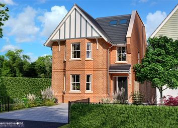 Thumbnail 4 bed detached house for sale in The Valders, Linsford Lane, Mytchett
