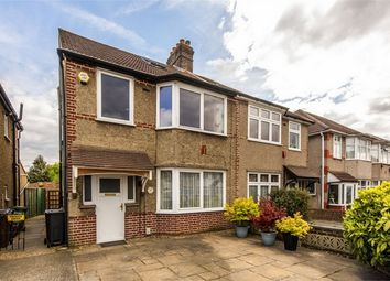 Thumbnail 4 bedroom semi-detached house for sale in The Drive, Isleworth, Middlesex