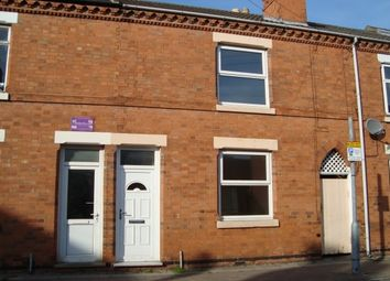 Thumbnail 2 bed terraced house to rent in Shakespeare Street, Loughborough