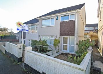 Thumbnail 3 bed semi-detached house for sale in Colwill Road, Mainstone, Plymouth