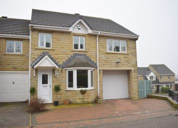 Thumbnail 3 bed end terrace house for sale in Elder Mews, Shelley, Huddersfield