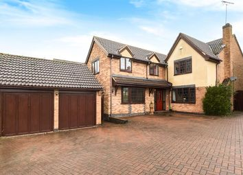 Thumbnail 5 bed detached house for sale in Bodicoat Close, Whetstone, Leicester