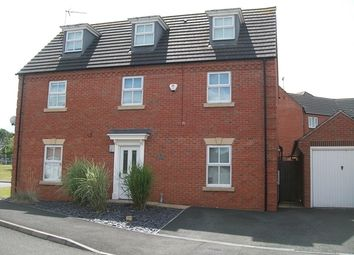 Thumbnail 5 bed detached house to rent in Holt Close, Stoney Stanton, Leicestershire