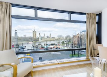 Thumbnail 2 bed flat to rent in Parliament View Apartments, Albert Embankment, London