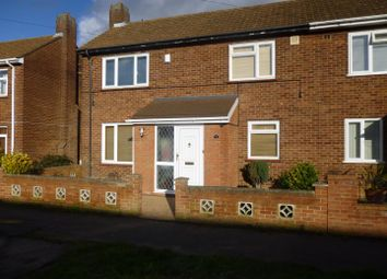 Thumbnail 3 bedroom property to rent in Whitley Road, Shortstown, Bedford