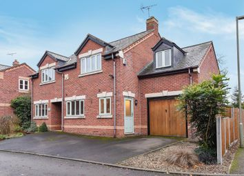 Thumbnail 4 bedroom detached house for sale in Firtree Close, Banbury
