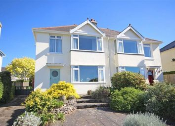 Thumbnail 3 bed semi-detached house for sale in Ranscombe Road, Wall Park Area, Brixham
