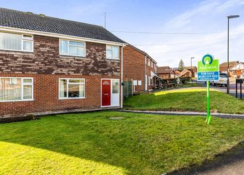 Thumbnail 3 bed semi-detached house for sale in Grange Road, Newhall, Swadlincote