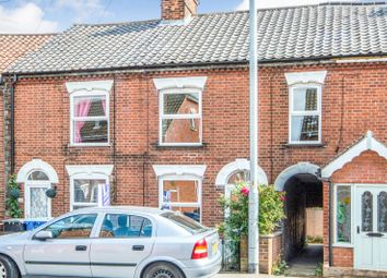 Thumbnail 3 bed terraced house to rent in Sprowston Road, Norwich