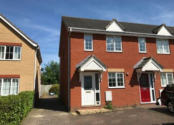 Thumbnail 2 bed semi-detached house for sale in Speedwell Road, Wymondham