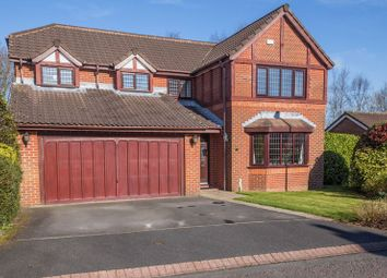 Thumbnail 4 bed detached house for sale in Plymouth Grove, Standish, Wigan