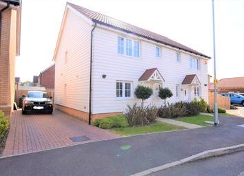 Thumbnail 3 bed semi-detached house for sale in Cooper Smith Road, Takeley, Bishop's Stortford