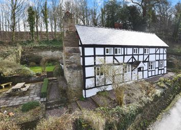 Thumbnail 2 bed cottage for sale in Stoke Edith, Herefordshire
