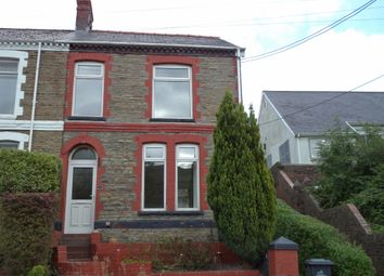 Thumbnail 3 bed end terrace house to rent in Dyffryn Road, Waunlwyd, Ebbw Vale