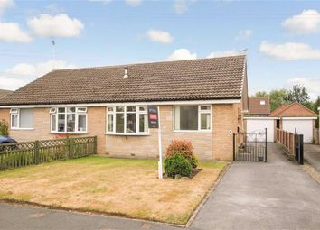 Thumbnail 2 bed semi-detached bungalow for sale in Sherwood Drive, Harrogate, North Yorkshire