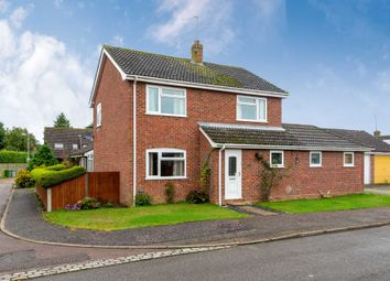 Thumbnail 4 bed detached house for sale in Nursery Close, Acle