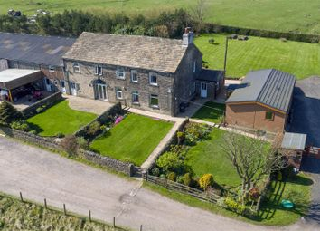 Thumbnail 7 bed property for sale in Thornton Park Farm, Ash Hall Lane, Soyland