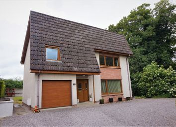Thumbnail 4 bed detached house for sale in Bailies Road, Forres