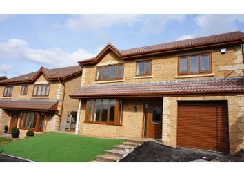 Thumbnail 4 bed detached house for sale in Bridgend Road, Pontyclun