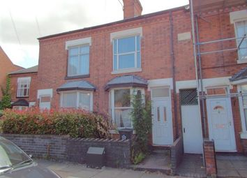 Thumbnail 2 bed terraced house for sale in Clarendon Park Road, Leicester, Leicestershire