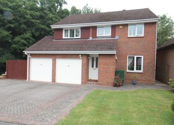 Thumbnail 4 bed detached house for sale in Hollingbourne Crescent, Crawley