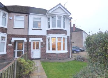 Thumbnail 3 bed semi-detached house for sale in Burnaby Road, Coventry