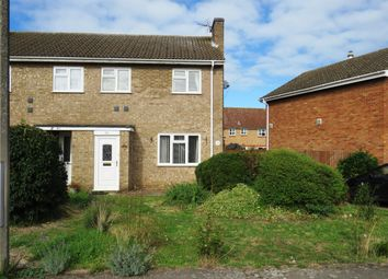 Thumbnail 3 bed semi-detached house to rent in Blackbird Road, Beck Row, Bury St. Edmunds