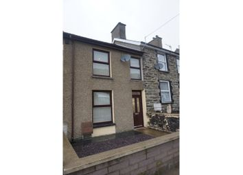 Thumbnail 2 bed terraced house for sale in Tyddyn Gwyn Terrace, Blaenau Ffestiniog