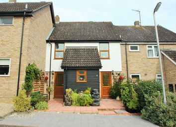 Thumbnail 3 bedroom terraced house for sale in Celandine Court, Braiswick, Colchester