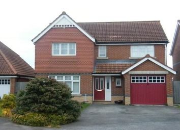 Thumbnail 4 bedroom detached house to rent in Newquay Close, Darlington