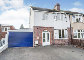3 bed semi-detached house for sale in Leicester Road, Groby, Leicester LE6
